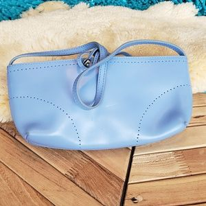 Furla MADE FROM ITALY Soft Blue small purse